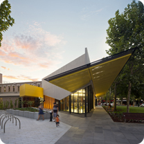 Biblioteca Bendigo por MGS Architects