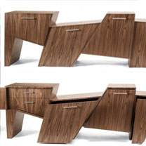 "Gabinete ""Coast Range"" by Peter Pierobon"
